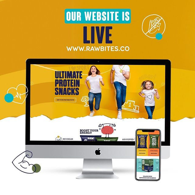 Our website is live