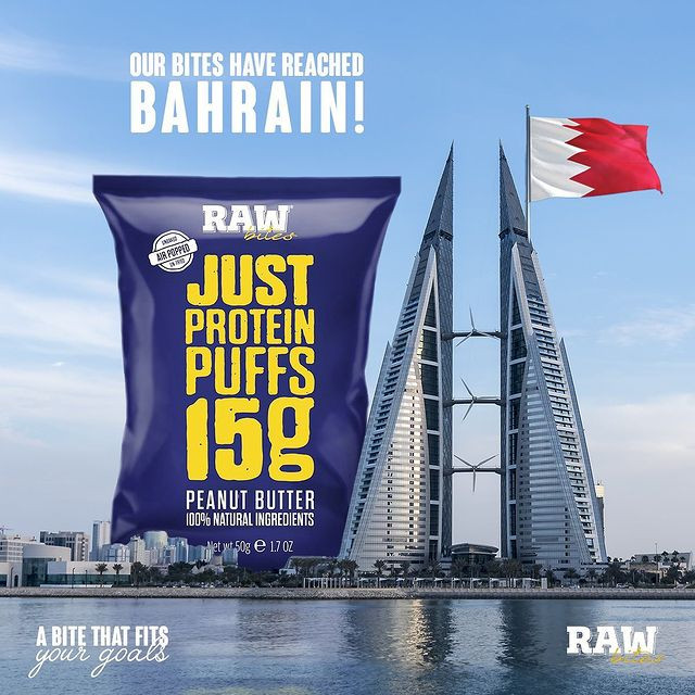Our bites have reached Bahrain