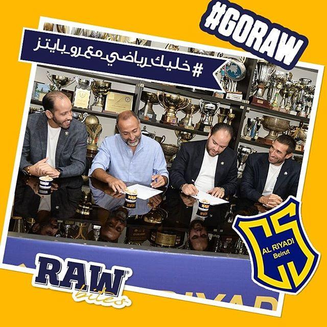 Raw Bites signed with Al Riyadi Club Beirut