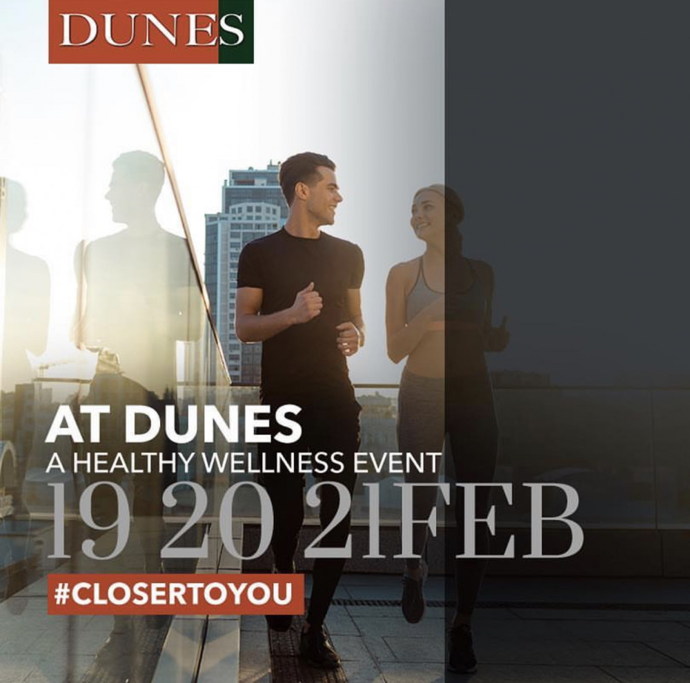 A Healthy Wellness Event at Dunes